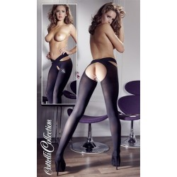 Calze sexy - STOCKINGS BLACK S/M