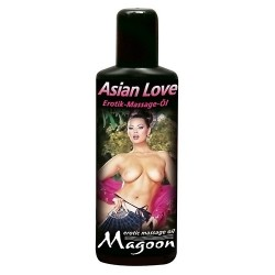 Olio da massaggio- magoon asian love erotic massage oil 100 ml