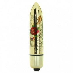 Vibratore - ro80 gold metallic - tattoo - 7 speed