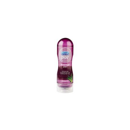 Durex lubrificante - durex play massage 200 ml