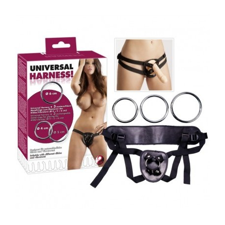 Slip Strap on Harness per dildo indossabile