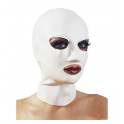 Maschera blu- latex mask blue