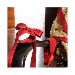 Manette - ETHEREA SILK CUFFS RED LELO
