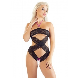 Body in pizzo sexy - BODY BLACK CLOSE2YOU
