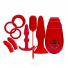 Kit plug anali - FLIRTY KIT SET RED